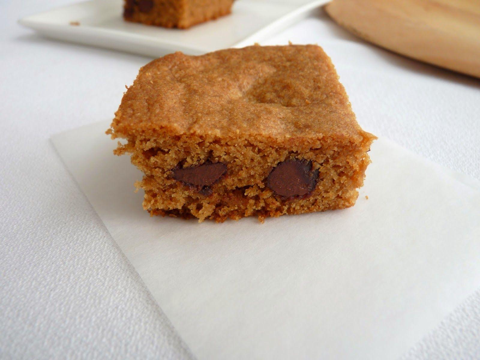 :pastry studio: Espresso Chocolate Chip Blondies