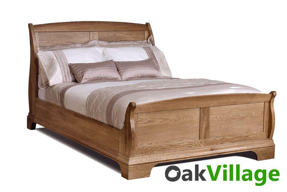 Normandy Farmhouse Oak Super King Bed Solid Oak Bed Frame 6ft