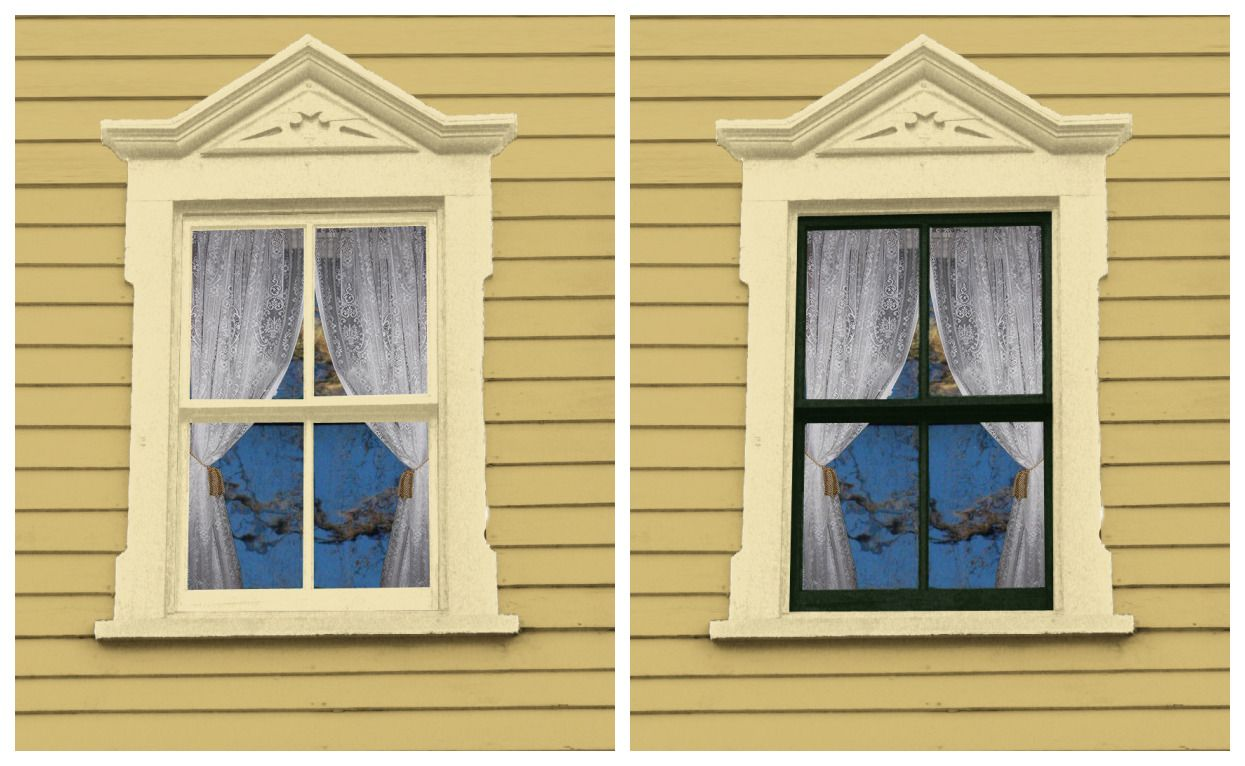 Incorrect color placement on your windows has a negative effect on ...