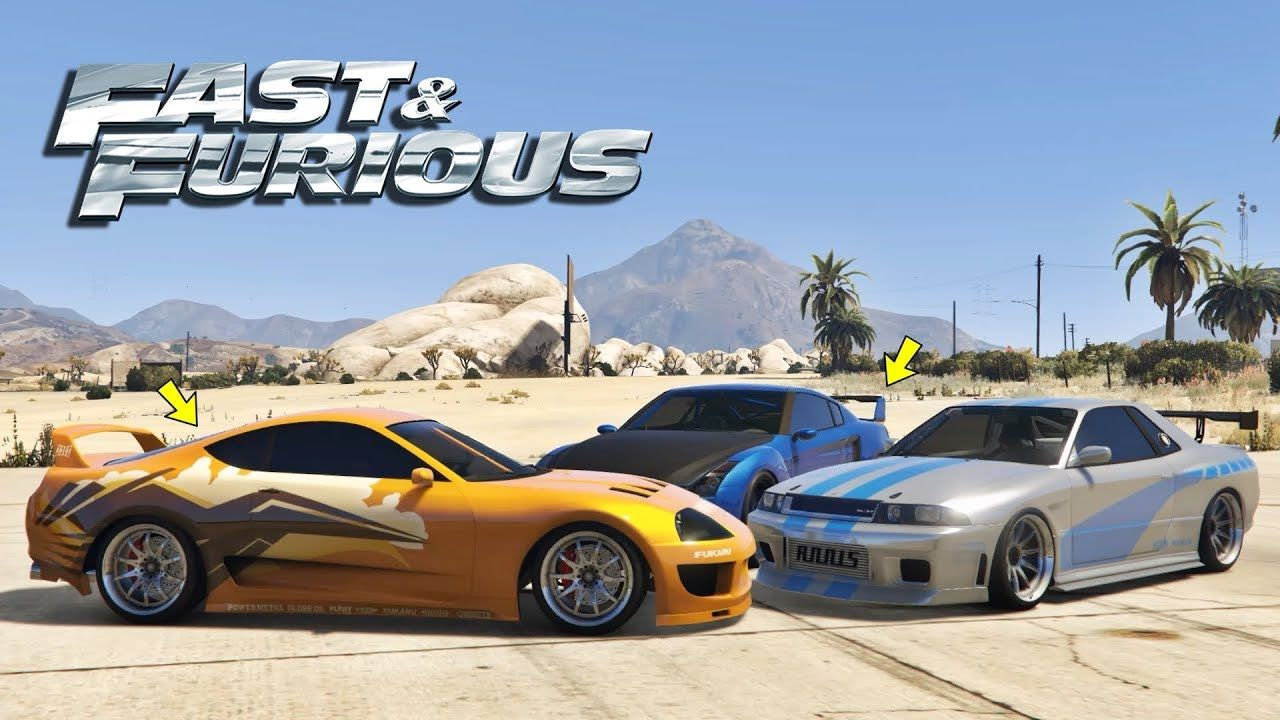 Fast And Furious Cars In Gta 5 Online With Images Cheap
