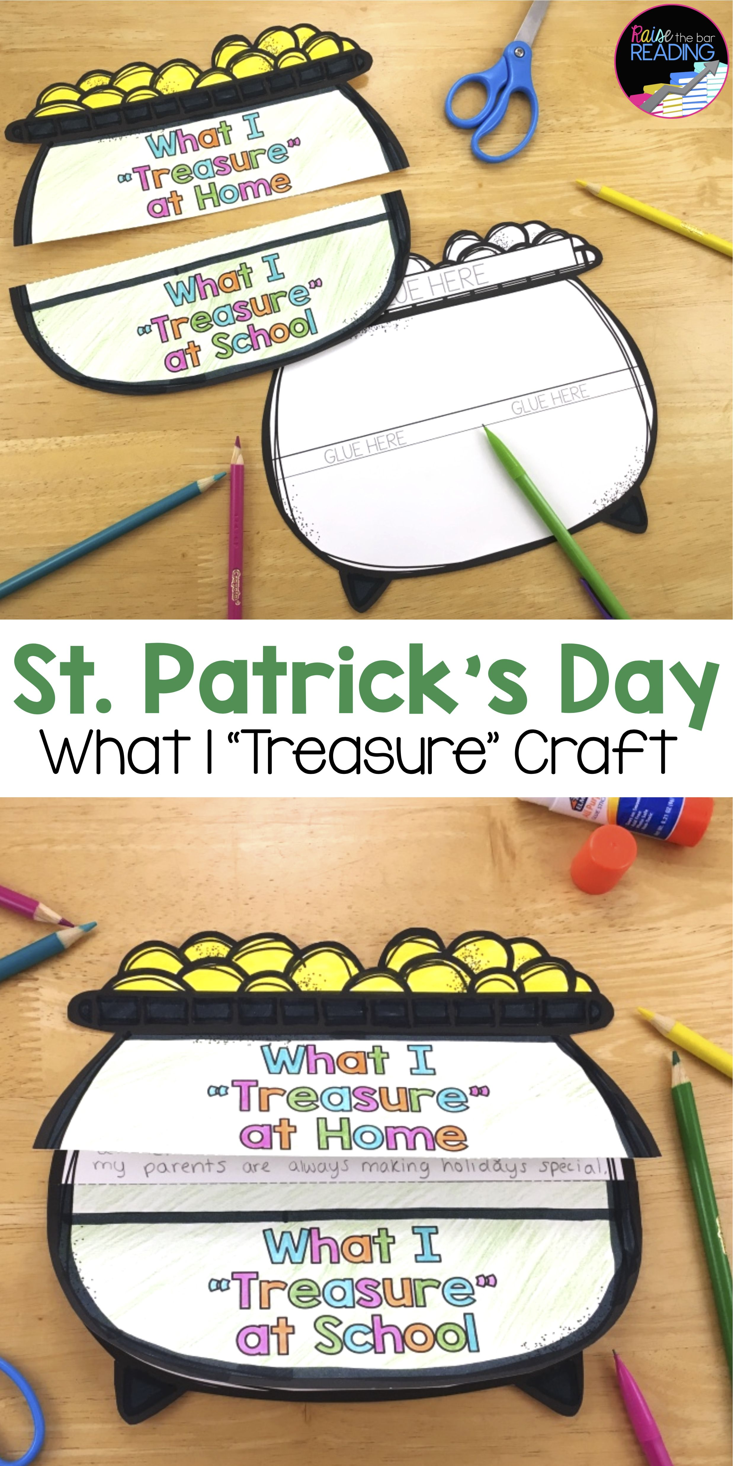 St. Patrick\'s Day Activities and Glyphs: St. Patrick\'s Day Crafts & more