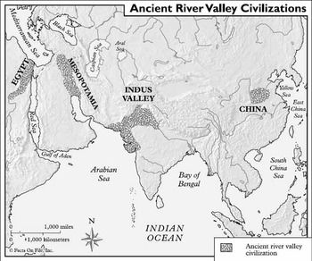 Early River Valley Civilizations Map Ancient River Valley Civilizations Mapping Activity Worksheet