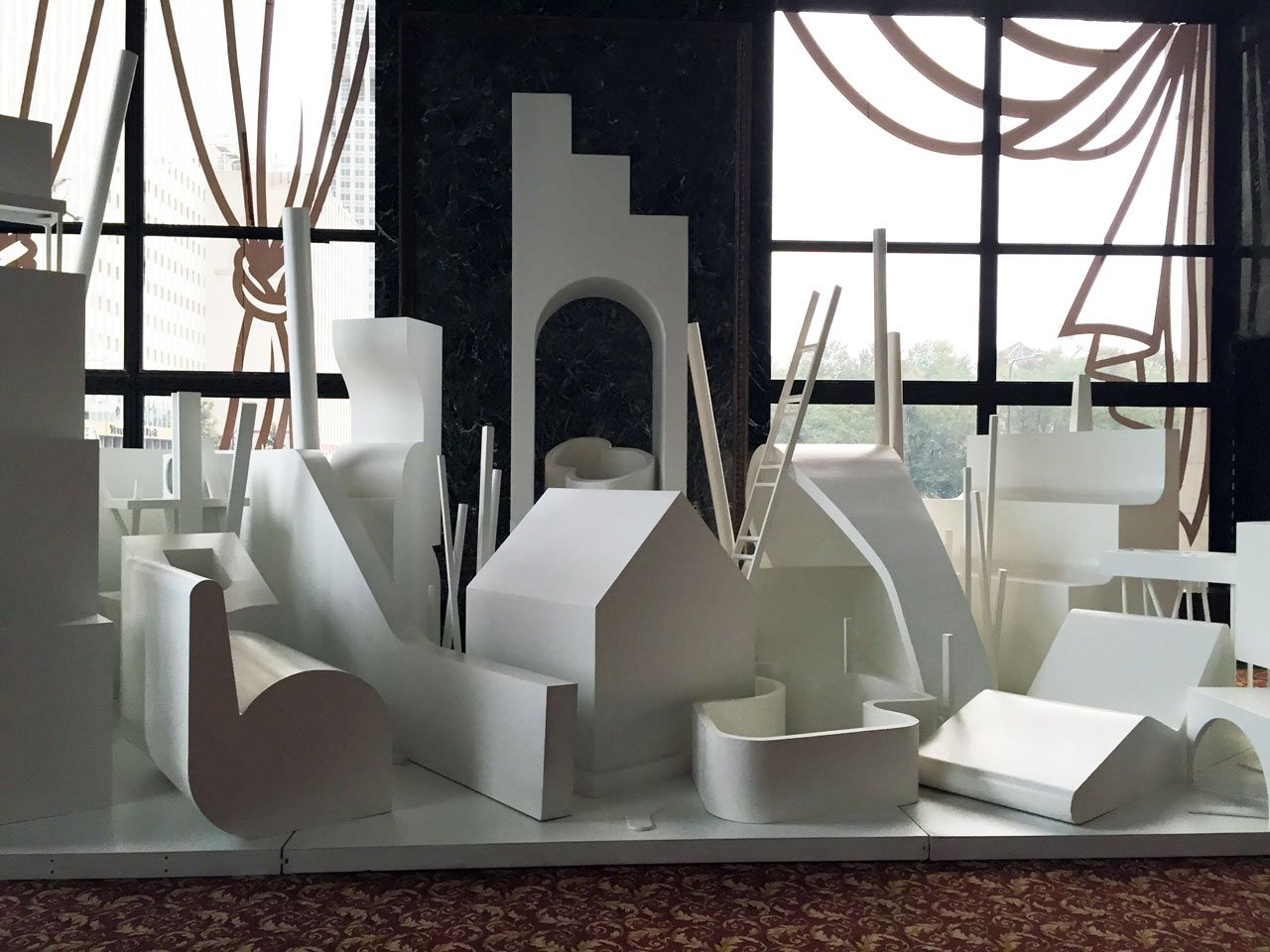 Chicago arch trip bureau spectacular furniture coworking