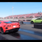 Video Ford Mustang Shelby Gt500 Vs C8 Chevy Corvette In 2020