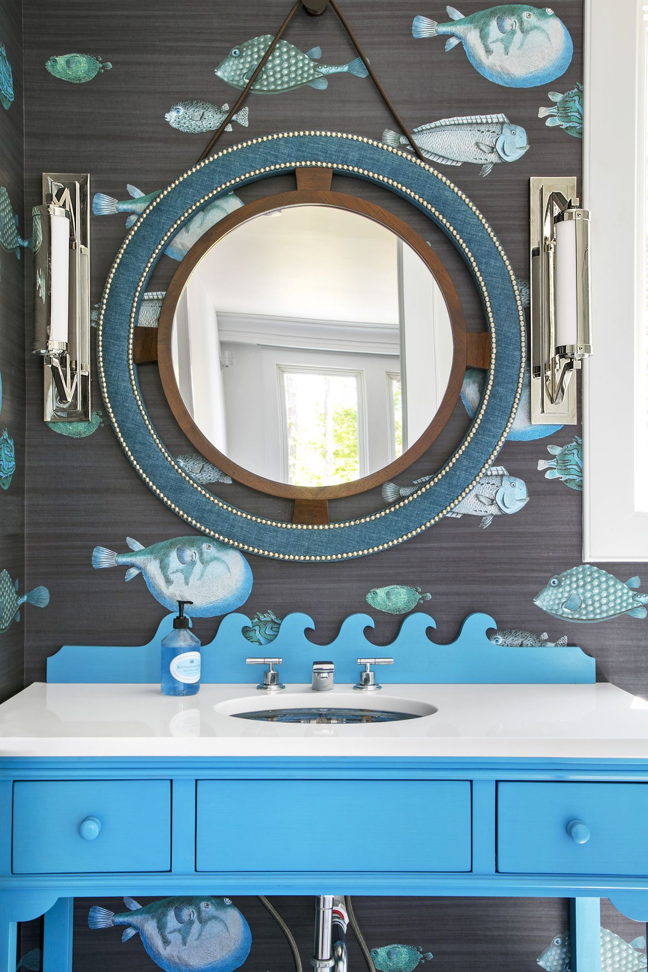Fun Ways To Decorate Your Home This Summer Coastal Style - Bathroom vanities palm beach county
