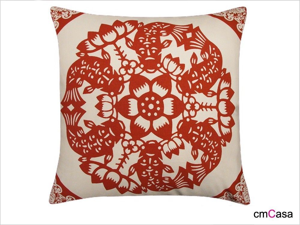 =cmCasa= 2003  Classic Chinese Style Throw Pillow Case