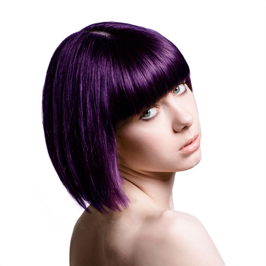 Straight perm and dying hair - Stargazer Semi Permanent Hair Dye 70ml Violet