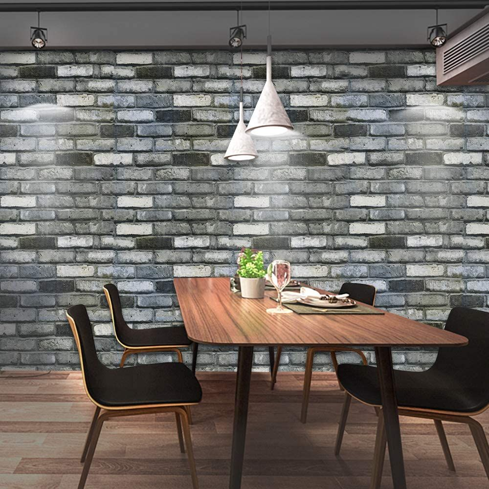 Brick Peel And Stick Wallpaper Stick And Peel Vintage Contact Paper Removable Wallpaper Waterproo Wallpaper Shelves Removable Wallpaper Self Adhesive Wallpaper