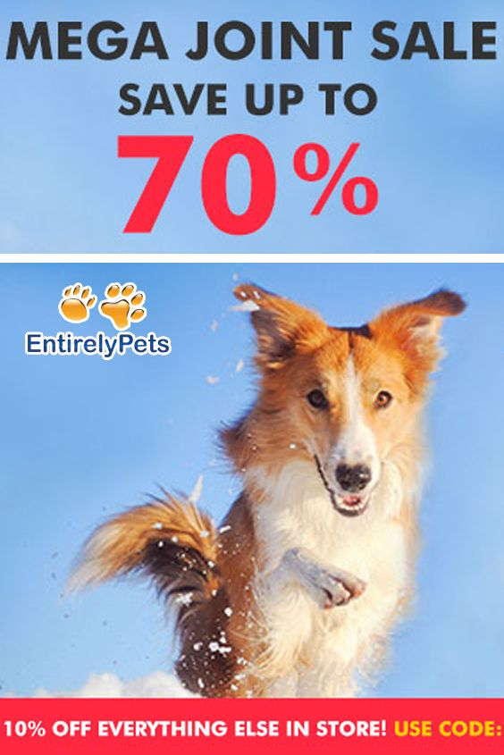 Entirely Pets is offering 10 discount on Sitewideand Mega