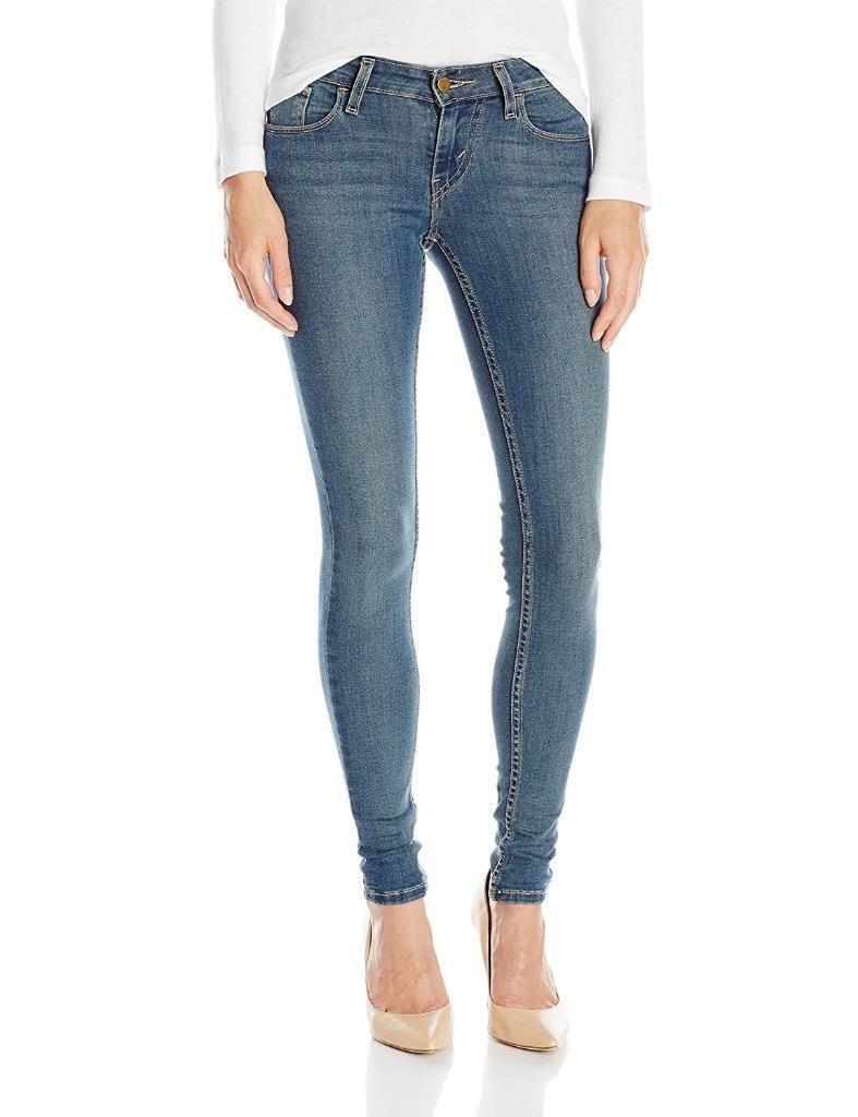 38e5bde79b5d2 Levi'S 535 Women'S Premium Super Skinny Jeans Leggings Mid Roast 119970260