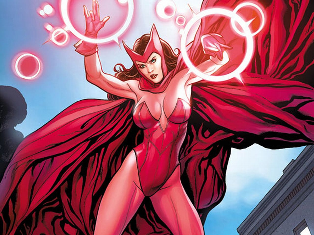 Image result for scarlet witch comic