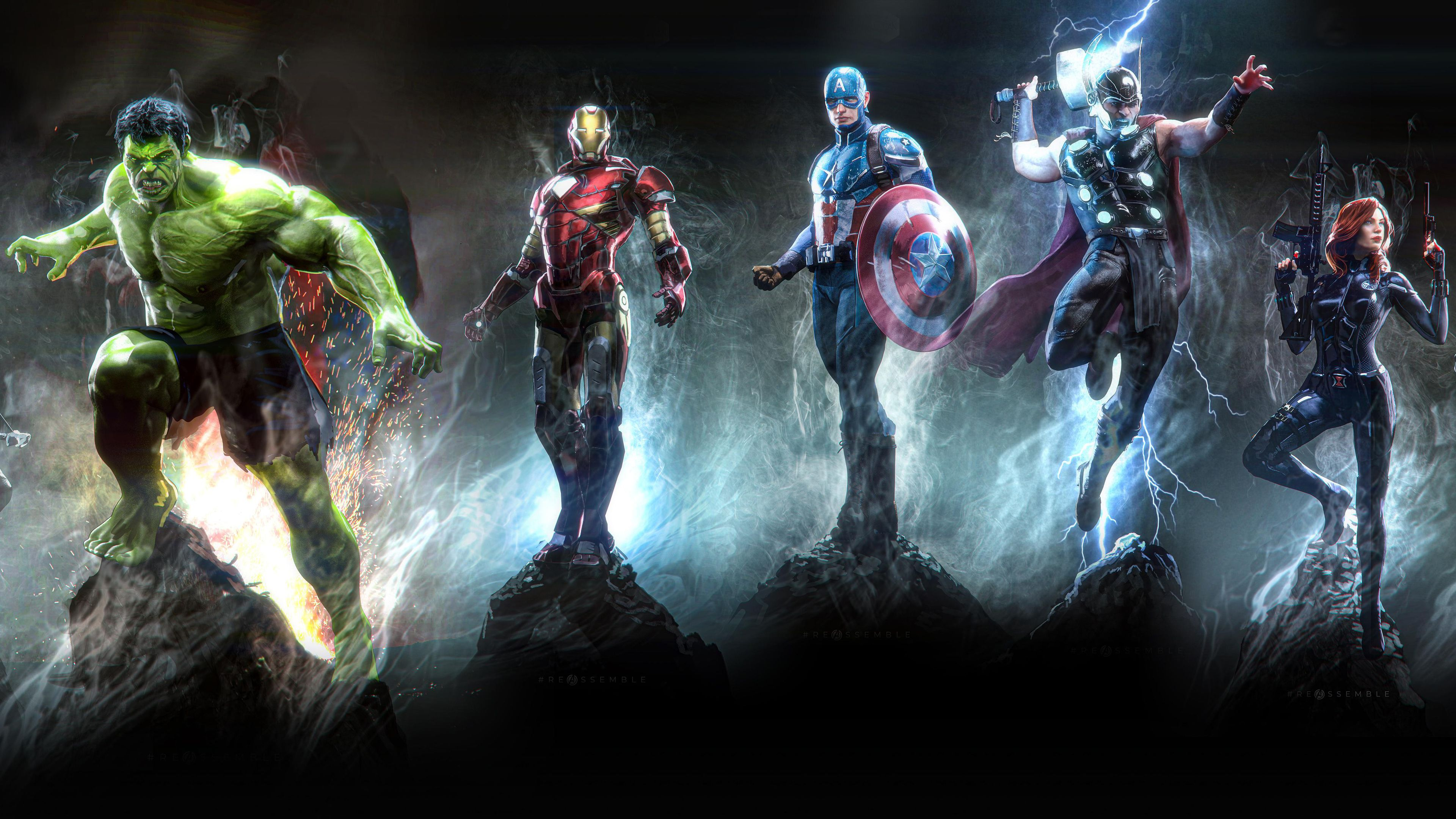 Wallpaper 4k Avengers