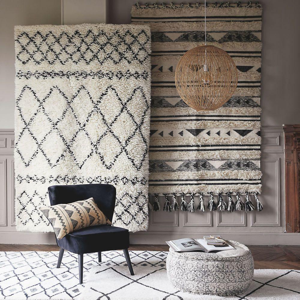 tapis berbere mounia en laine et coton