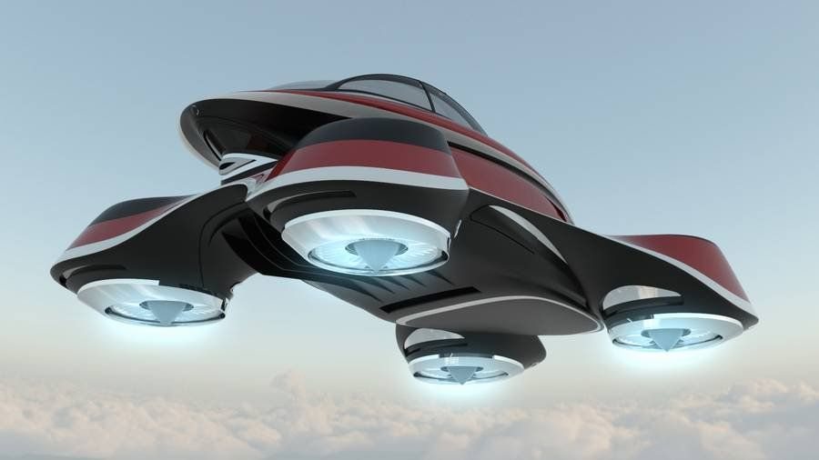 The Hover Coupe ...
