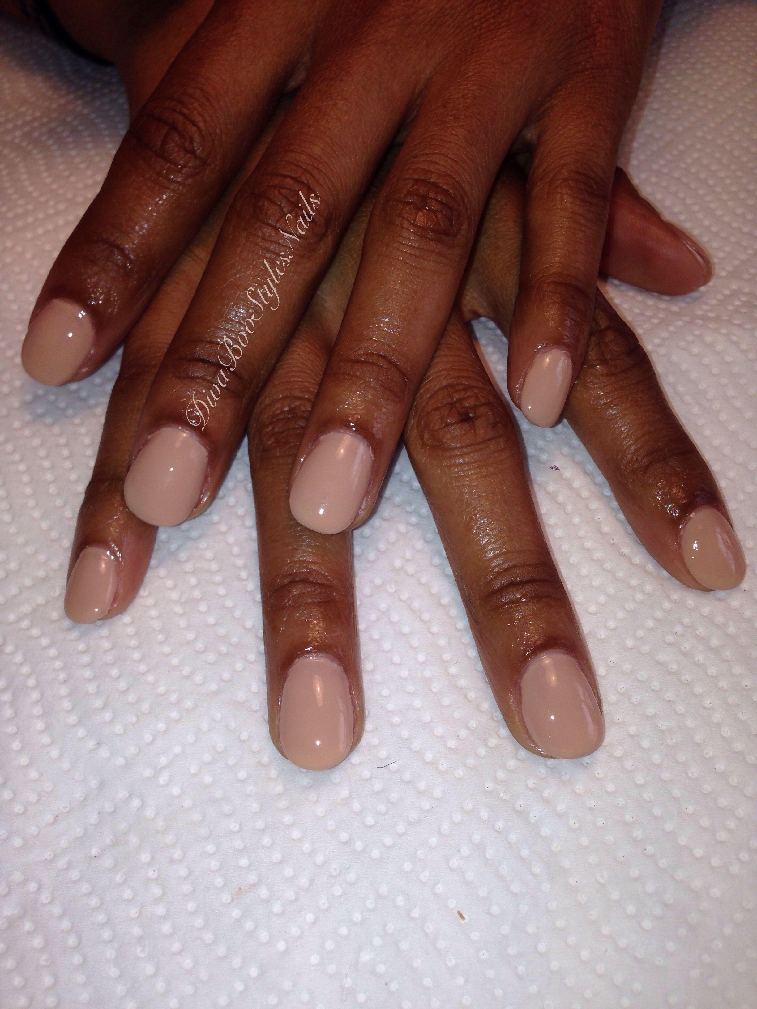 Pin By Divaboostyles Nails On Natural Nails Natural Nails Round Nails Gel Nail Colors