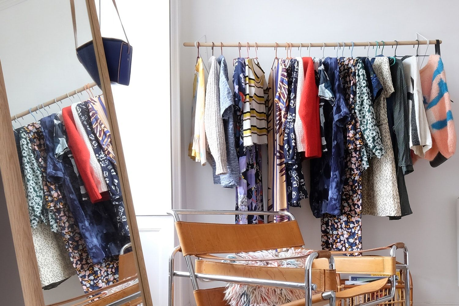 No Closet In Your Bedroom (or Not Enough Closet Space)? Keep Clothes From