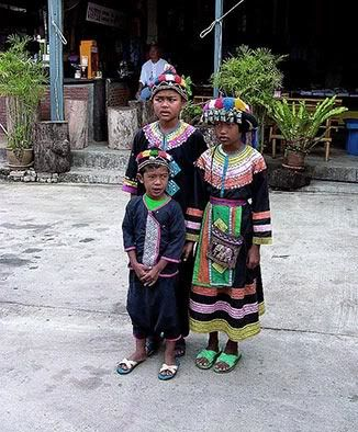 "National/traditional clothes^What Kachin - pronounced ""Kaa-Yin"" people wear traditionally. Mainly the children. They are the largest group of people/tribe next to the Burmese nationals living in Burma."