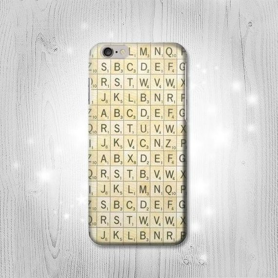 Scrabble Word Game Hard & Leather Flip Case iPhone 11 11
