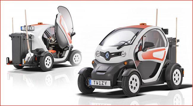 Twizy Zum Zuladen Renault Twizy Cargo Atv Quad Quad Kleine Autos