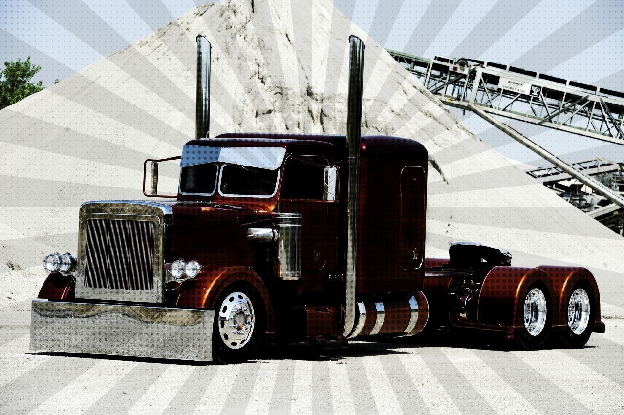 Big Rig Coming For You : Show trucks peterbilt hypes bashes