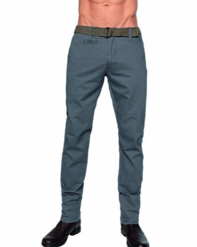 Pantalon Caballero Gabardina Gris $ 330 pesos