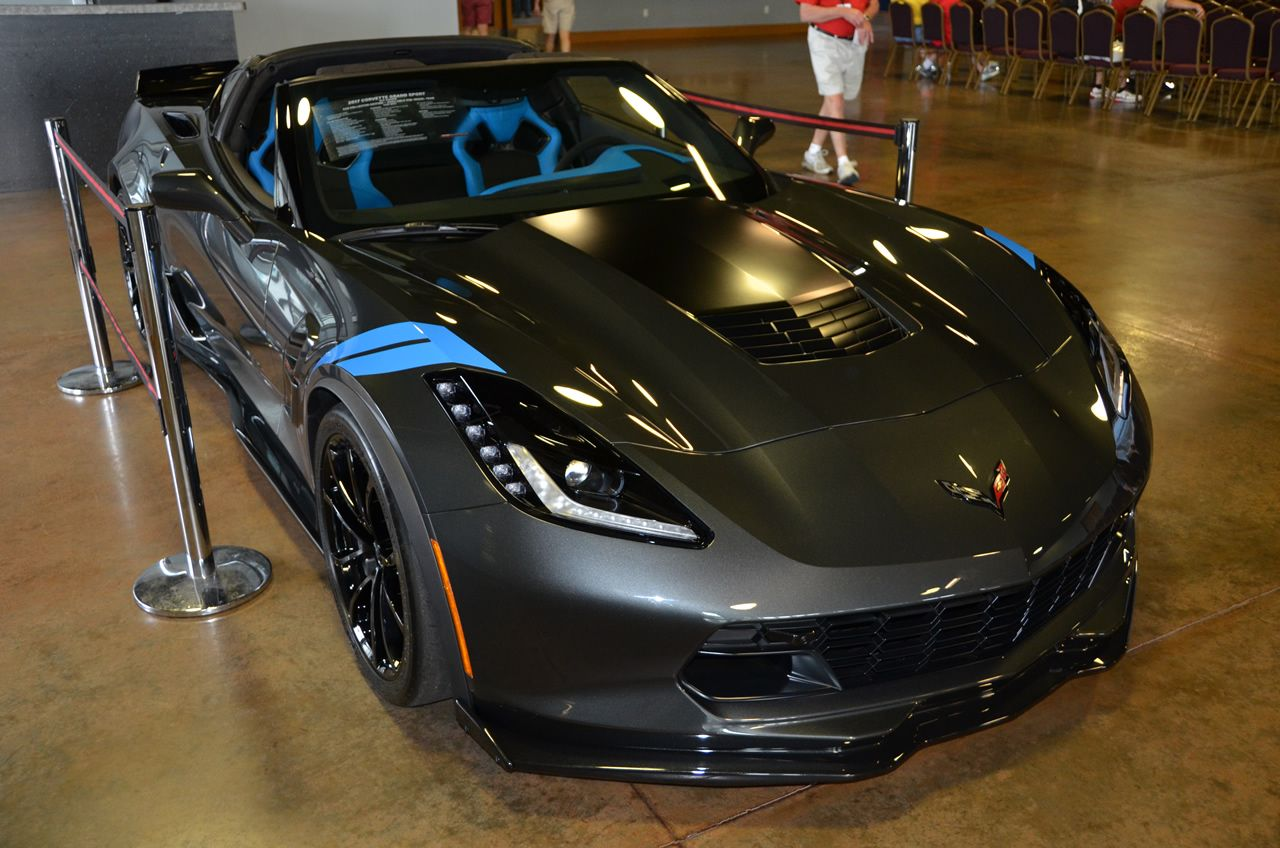 2017 Corvette Grand Sport Heritage Package Watkins Glen