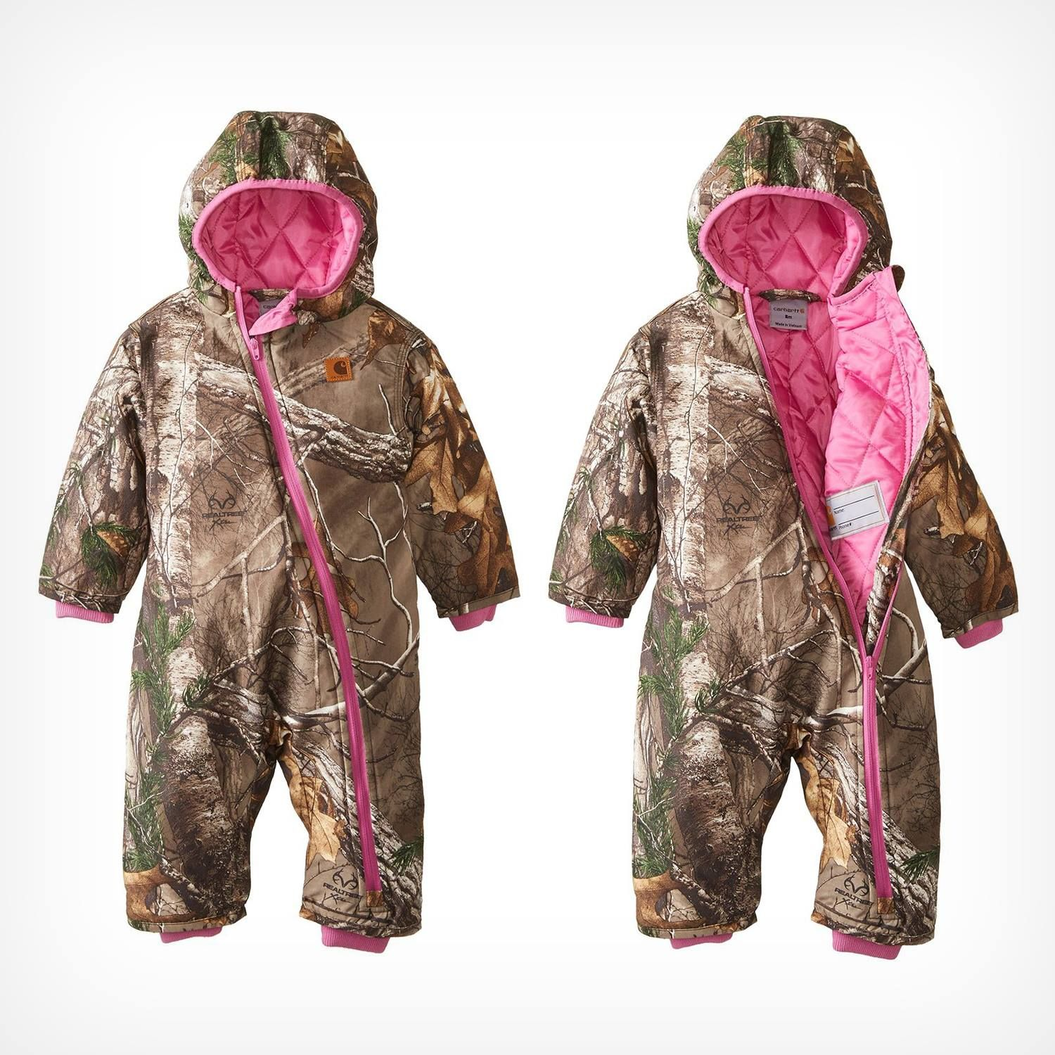 592b8d9ce Realtree Camo Carhart Baby Snow Suit. If we ever have a baby, I hope it's a  girl so she can wear this!!