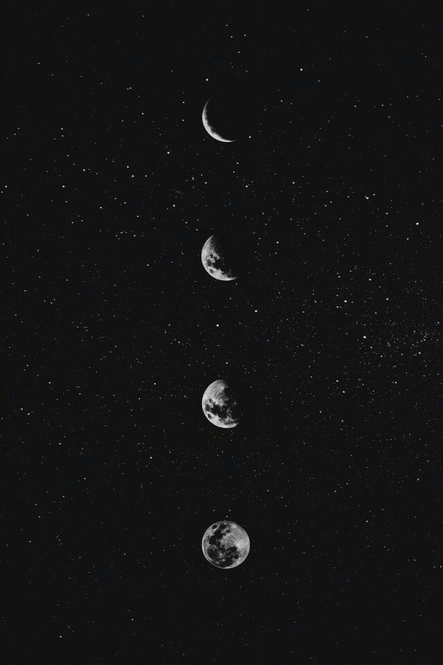 Sky See The Sky Full Of Stars Black Wallpaper Phone Wallpaper Aesthetic Wallpapers