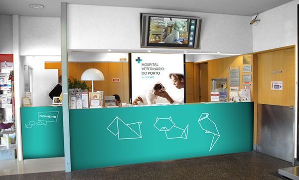Hospital Veterinario Do Porto On Behance Hospital Veterinario