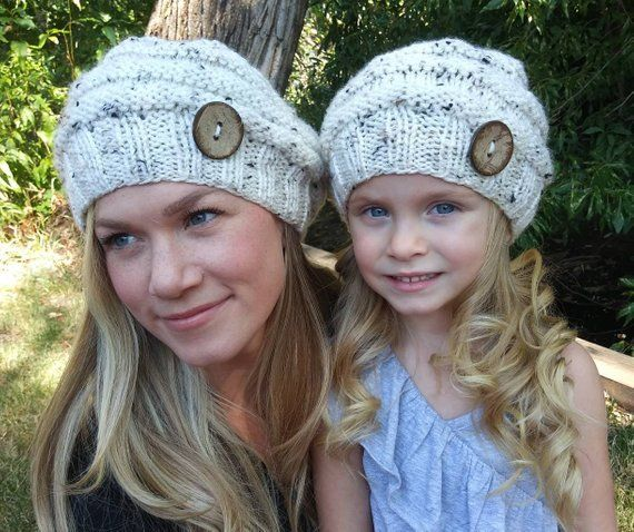 112384ed3873ad 37 Mommy and Me Beanies | Mommy + Me Matching Clothes | Mommy, me ...