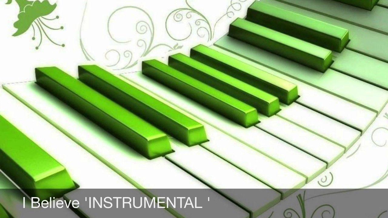 Jonathan Nelson I Believe - Instrumental Instrumental/multitrack
