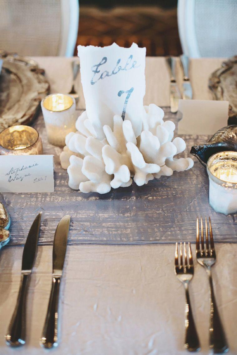 Romantic Natural Beach Wedding Ideas Beach Wedding Tables