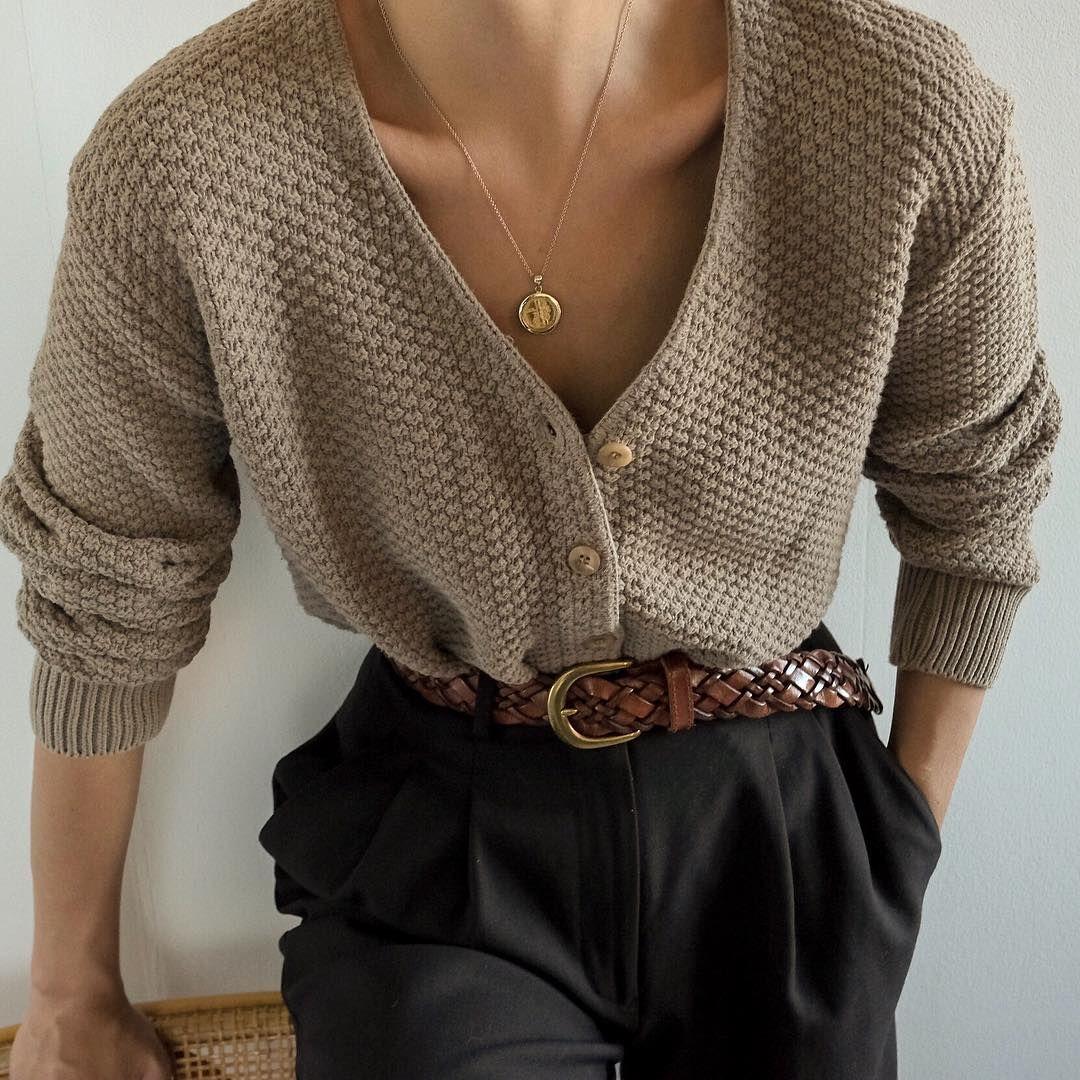 "Goodshop Badshop on Instagram: ""SOLD Vintage taupe 100% cotton knit cardigan, best fits xs-s. DM or comment for details. $48 + shipping."""