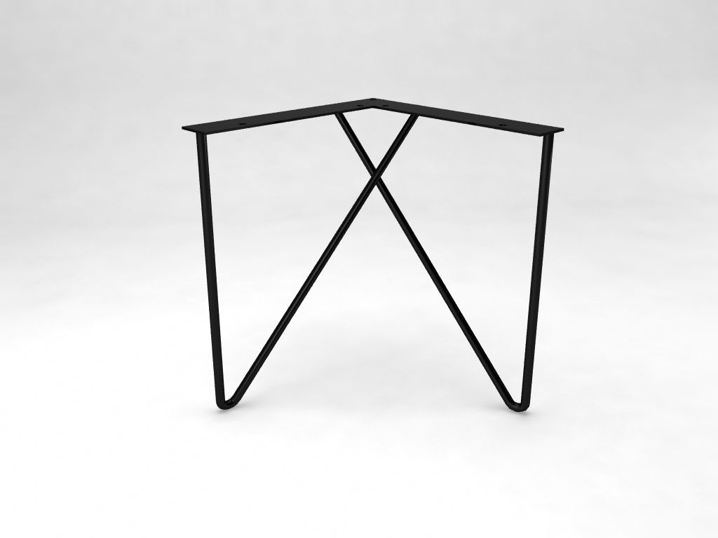 Paperclip Hairpin Leg   Hairpin Legs | Metal Legs | Table Legs