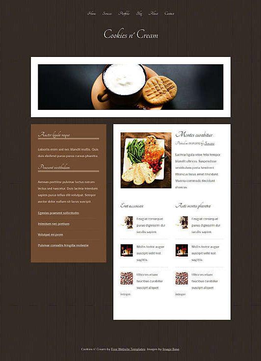 Dreamweaver Css Cooking Templates 10 Adobe Free Website Html