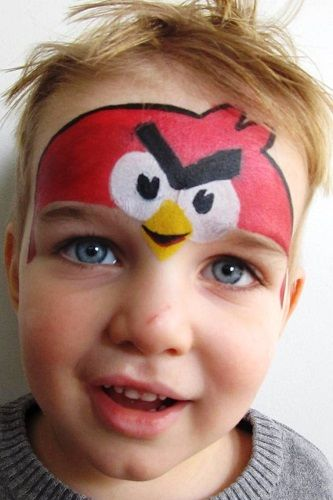 Photo Gallery Painted Monkeys face painting in Auckland ...
