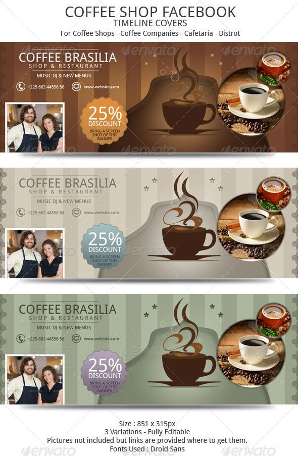 Coffee Shop Timeline Facebook  Timeline Coffee And Facebook