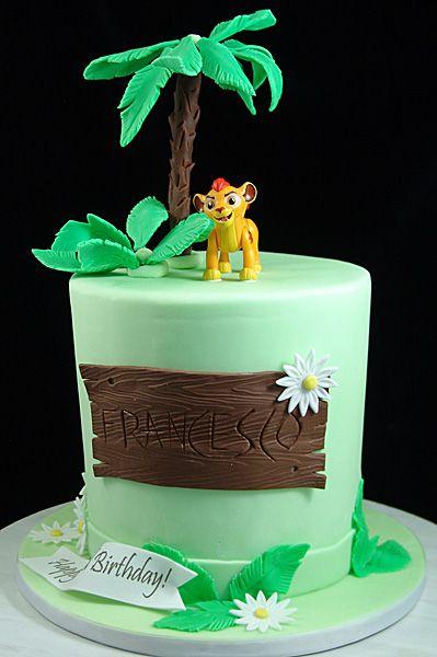 Lion King Themed Birthday Cake SambaLionKingCake