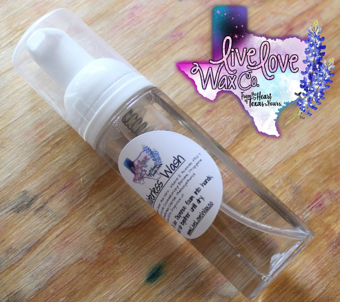Foaming Waterless Hand Wash Preorder Hand Washing Wax Melts