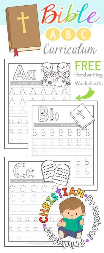 Free Bible ABC Curriculum--Sample Pack! Download our Bible ABC ...