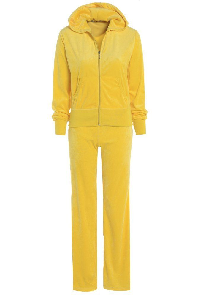 51d87a55c679 New Womens Full Velour Tracksuit Size 8 - 16: Amazon.co.uk: Clothing ...