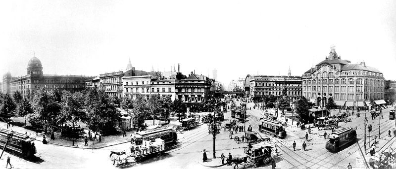 Alexanderplatz Around 1900 Berlin Alexanderplatz Berlin Geschichte Berlin