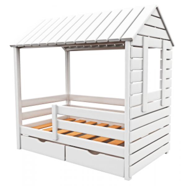 Фото Детская кровать «Избушка с окном и крышей» | Детская ...