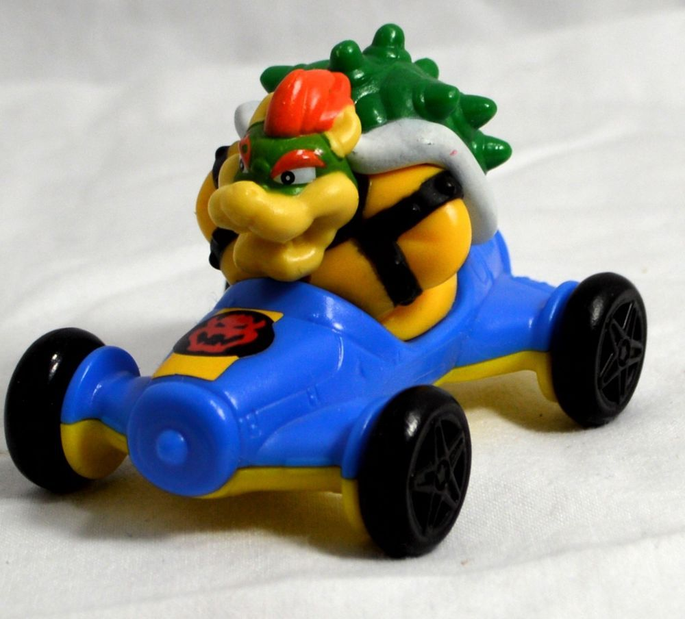 2014 Mcdonald S Nintendo Mario Kart 8 Bowser 5 Car Toy Cake Topper Mario Kart Mario Kart Cake Super Mario Kart