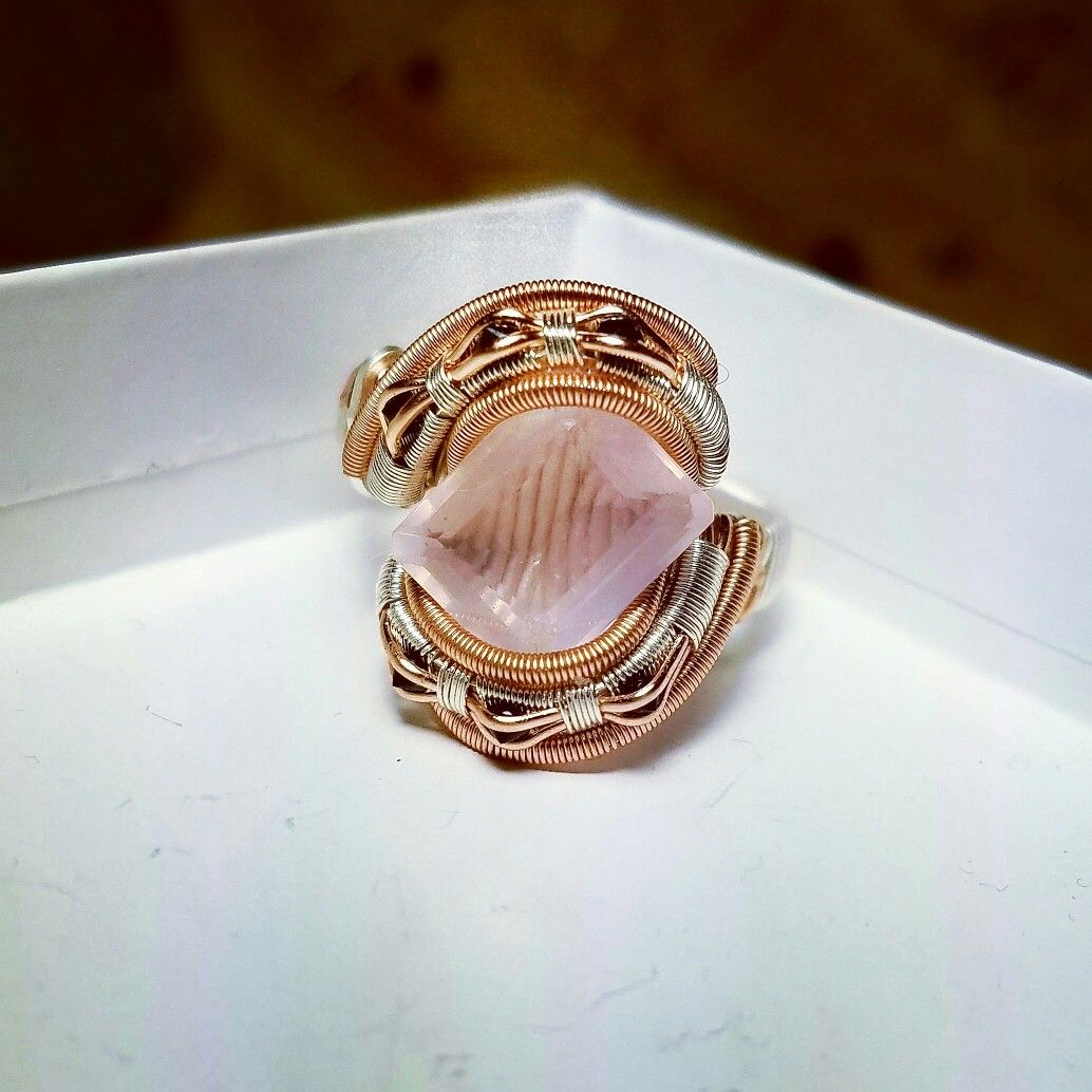 Heady wire wrapped ring by Noetic Effect wwwnoeticeffectcom