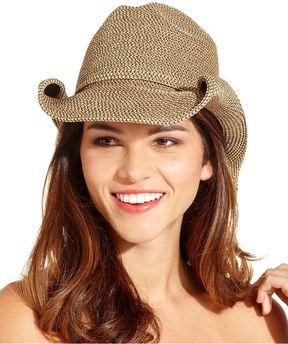 b337276b58c98c Nine West Hat, Packable Metallic Cowboy on shopstyle.com | HATS ...