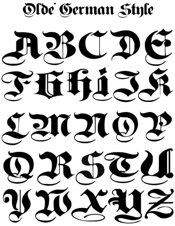 Olde German Font 800x600 1 Jpg 612 792 800x600 German Graffiti Lettering Fonts Lettering Alphabet Hand Lettering Alphabet