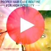 is crucial to have a proper hair care routine for high porosity hair in order It is crucial to have a proper hair care routine for high porosity hair in order  How to Do...
