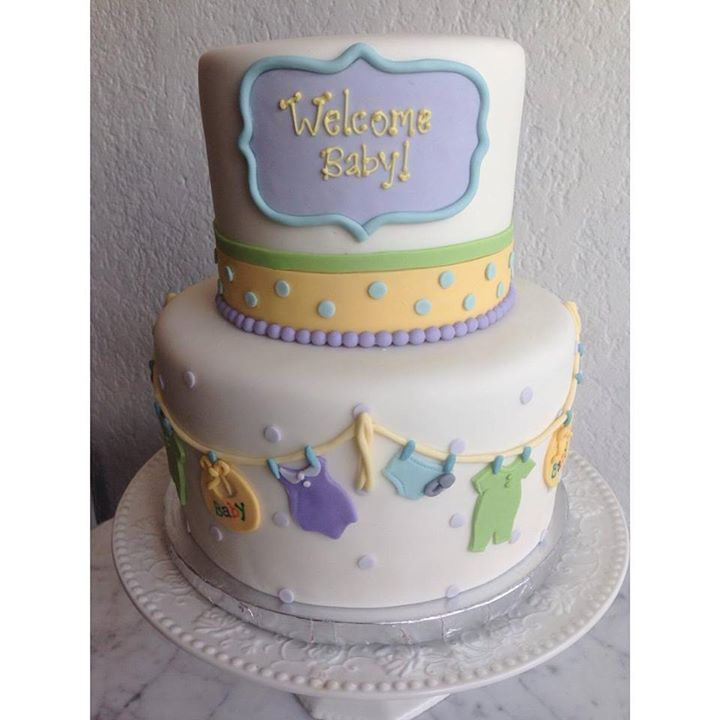 Baby Shower Cake Gender Neutral