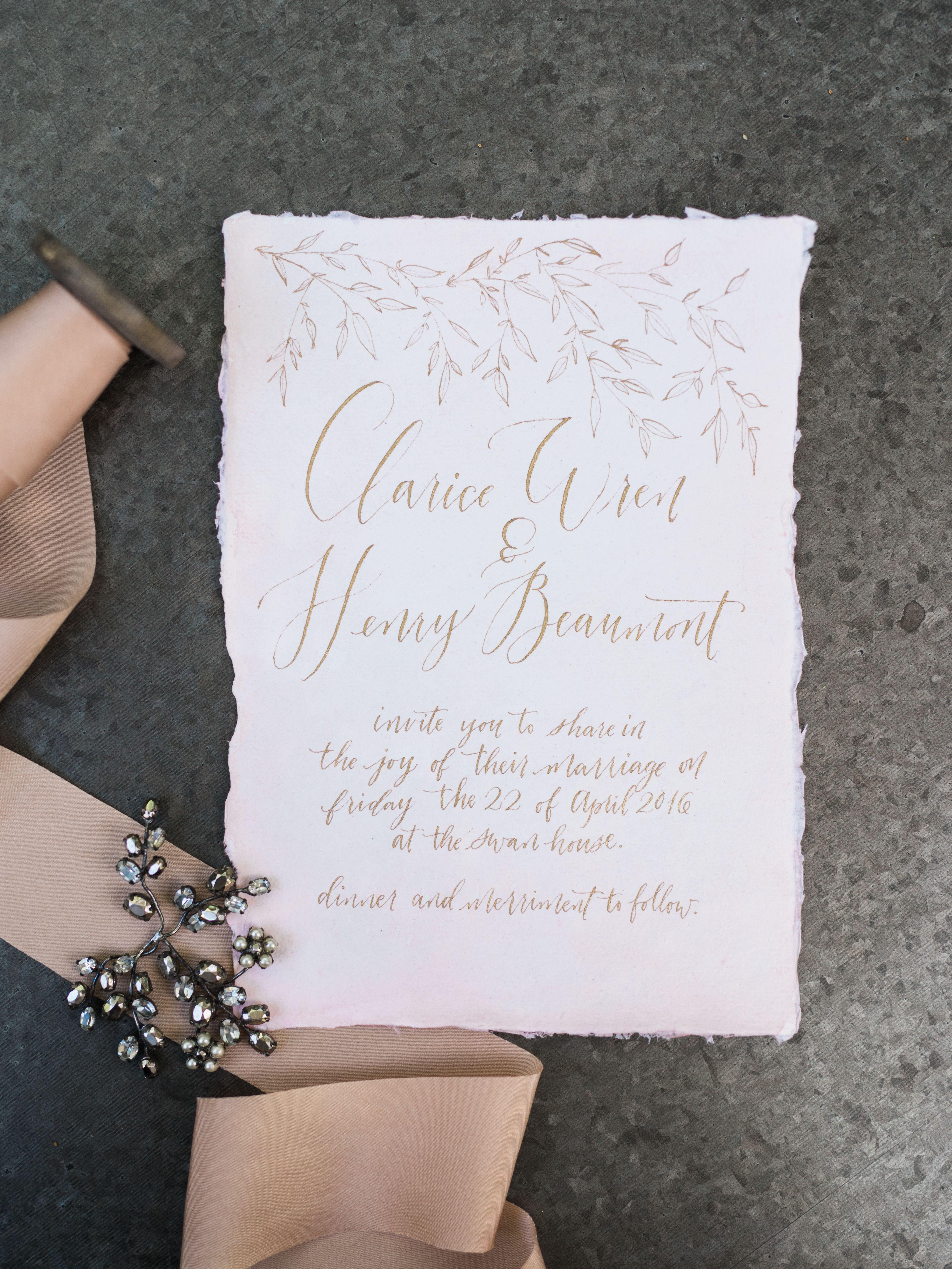 Calligraphy Inspiration: Rachel Anne Design